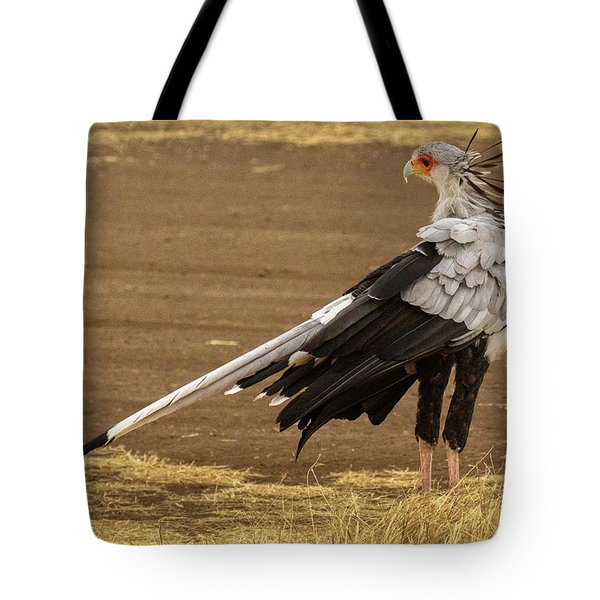 Secretary Bird Tanzania Tote Bag