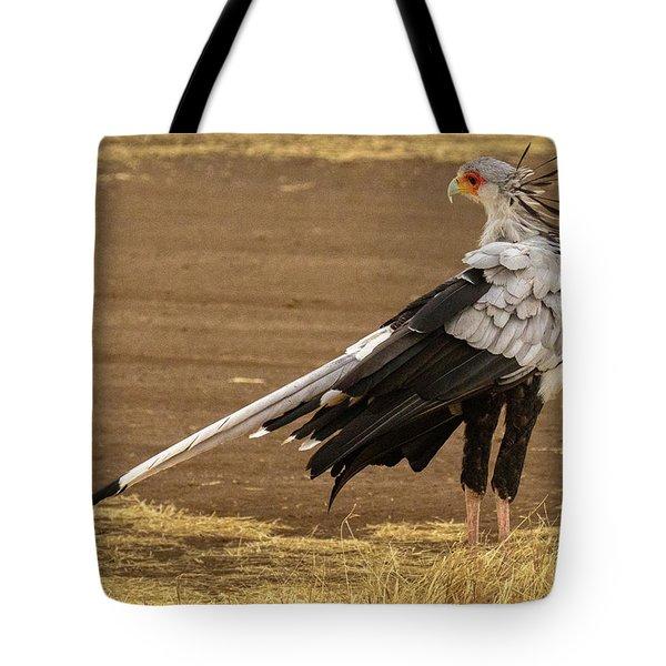 Secretary Bird Tanzania Tote Bag