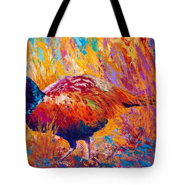 Secrets In The Grass - Pheasant Tote Bag