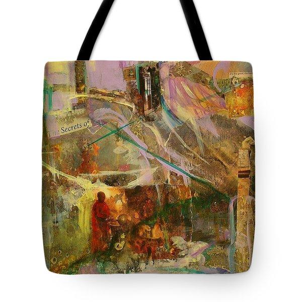 Secrets Tote Bag by Mary Schiros