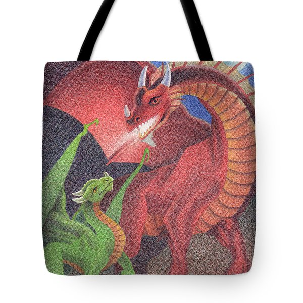 Secrets Of The Flame Tote Bag