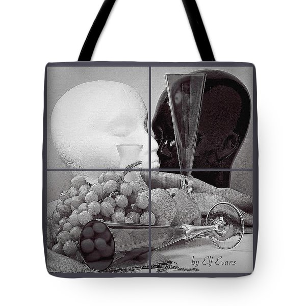 Tote Bag featuring the photograph Sections by Elf Evans