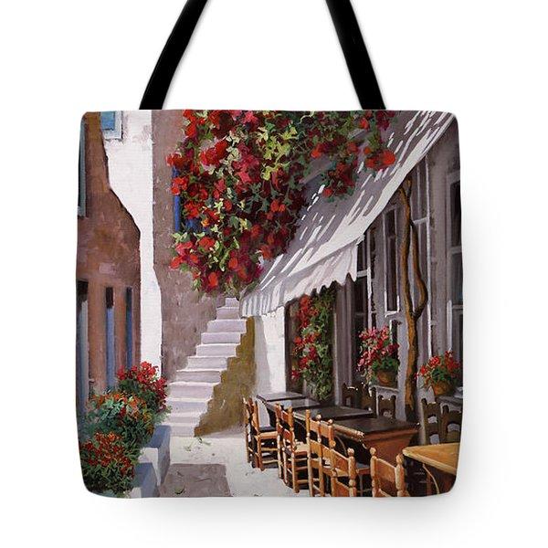 Sedie E Tavoli Tote Bag