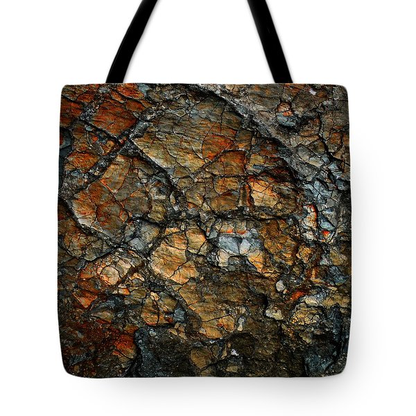 Sedimentary Abstract Tote Bag by Dave Martsolf