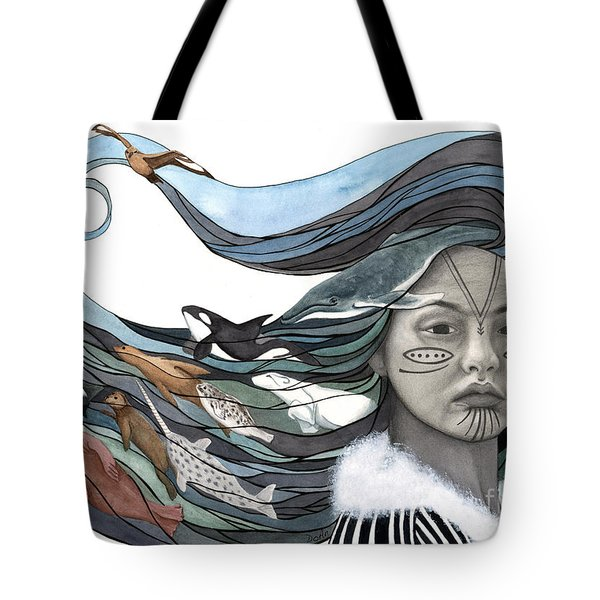 Sedna Tote Bag by Antony Galbraith