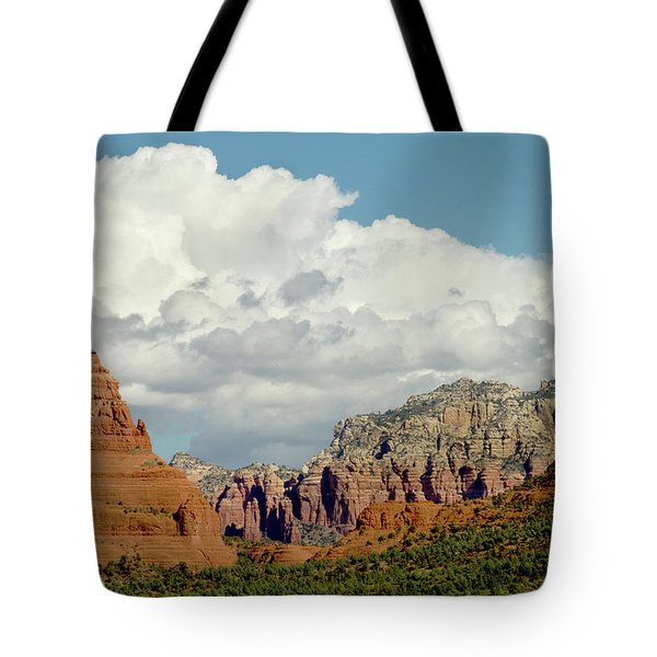 Tote Bag featuring the photograph Sedona Arizona by Bill Gallagher