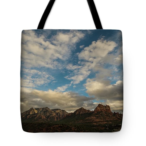 Sedona Arizona Redrock Country Landscape Fx1 Tote Bag by David Haskett
