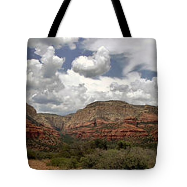 Tote Bag featuring the photograph Sedona Az by Elaine Malott