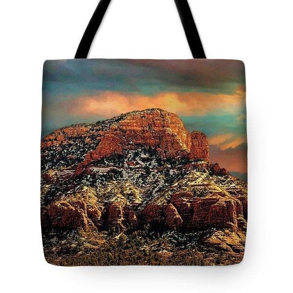 Sedona Dawn Tote Bag