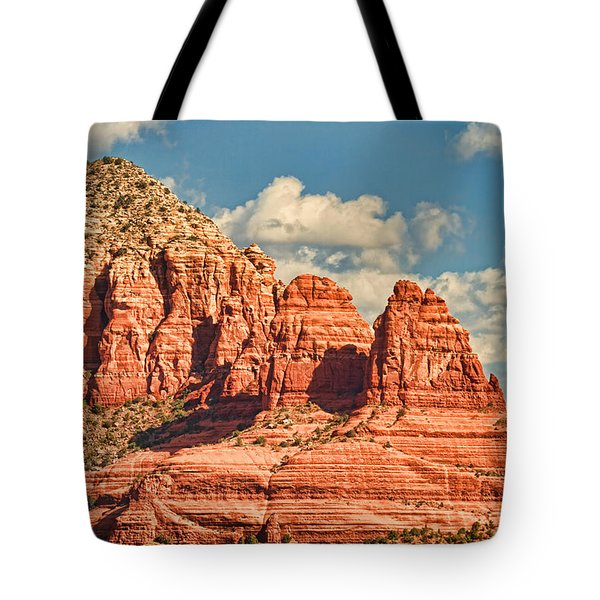 Tote Bag featuring the photograph Sedona Formation by Kim Wilson