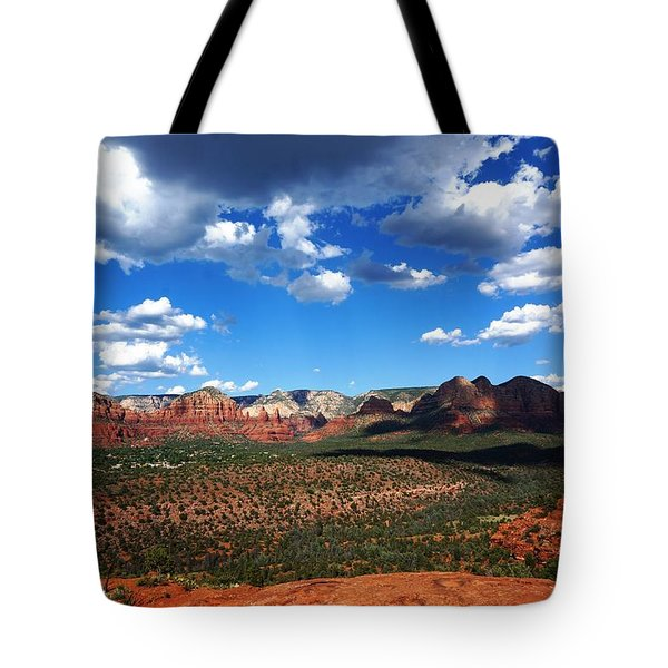 Sedona Tote Bag by Julia Ivanovna Willhite