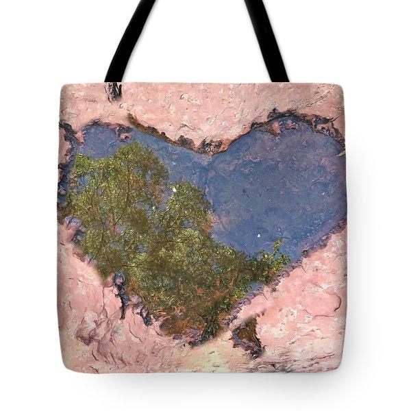 Sedona Love Tote Bag