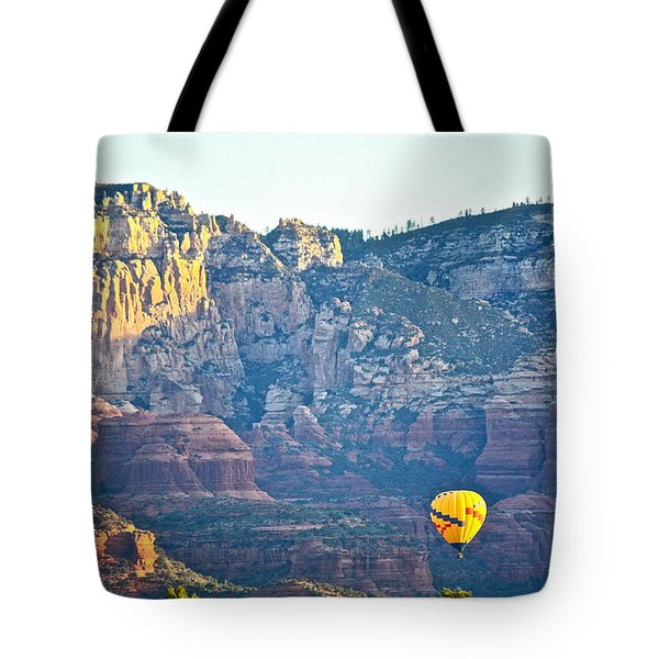 Sedona Morning  Tote Bag