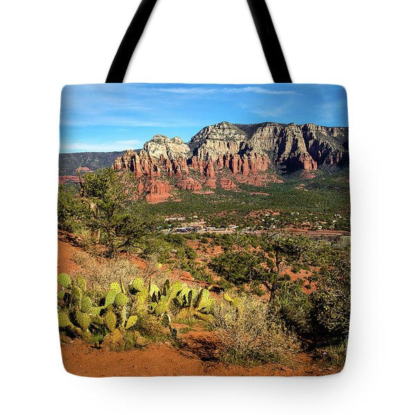 Sedona Morning Tote Bag by Jon Burch Photography