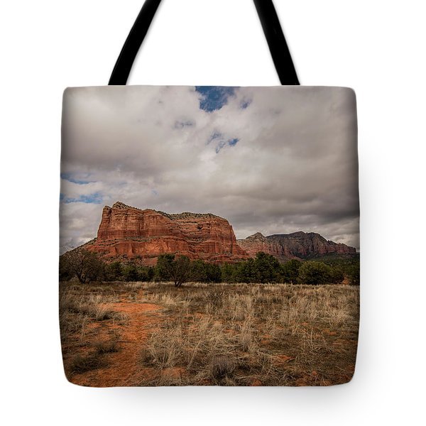 Sedona National Park Arizona Red Rock 2 Tote Bag by David Haskett