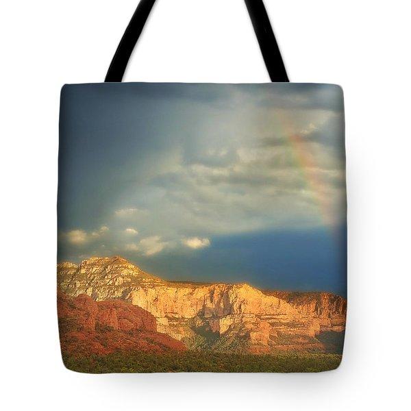Sedona Rainbow 2 Tote Bag
