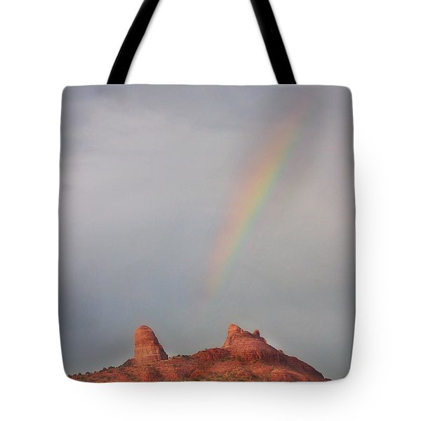 Sedona Rainbow Tote Bag