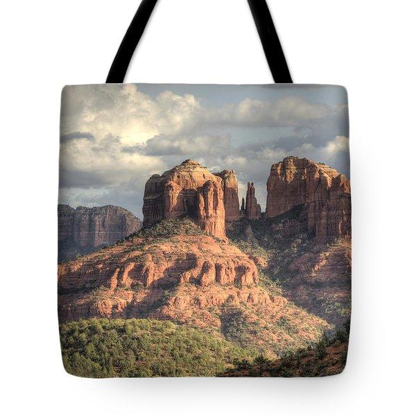 Sedona Red Rock Vista Tote Bag by Sandra Bronstein