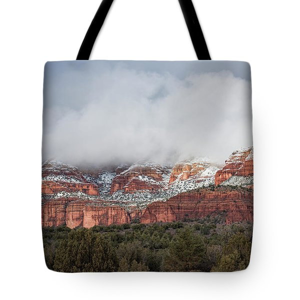 Tote Bag featuring the photograph Sedona Revealed by Sandra Bronstein