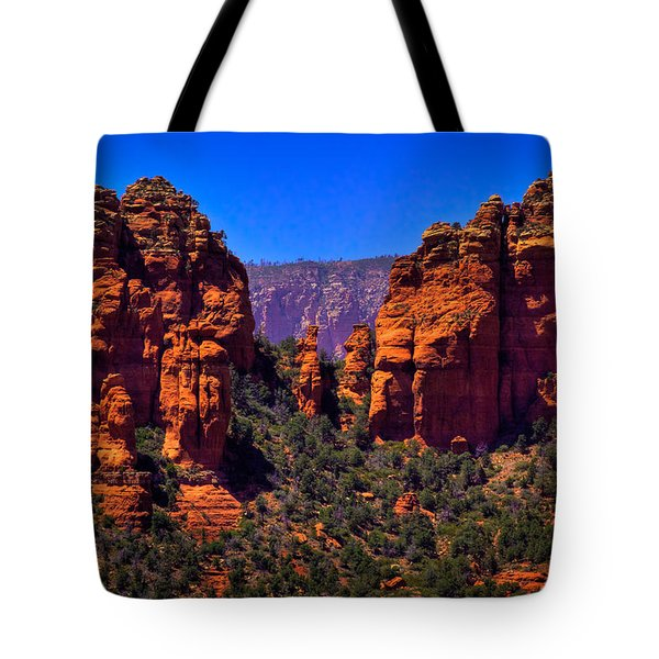 Sedona Rock Formations II Tote Bag by David Patterson