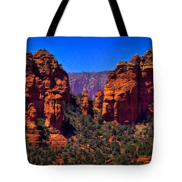 Sedona Rock Formations II Tote Bag