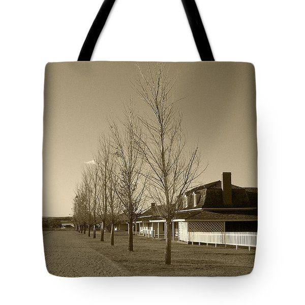 Tote Bag featuring the photograph Sedona Series - Alley by Ben and Raisa Gertsberg