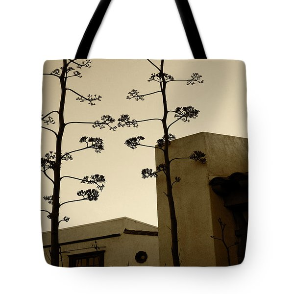 Tote Bag featuring the photograph Sedona Series - Desert City by Ben and Raisa Gertsberg
