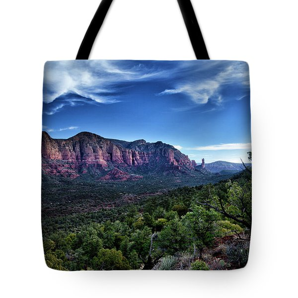 Sedona Skyline Tote Bag