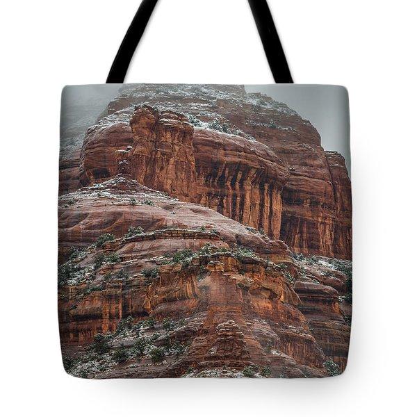 Sedona Snow Tote Bag
