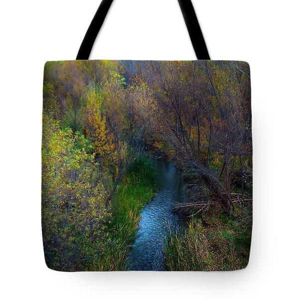 Sedona Stream Tote Bag