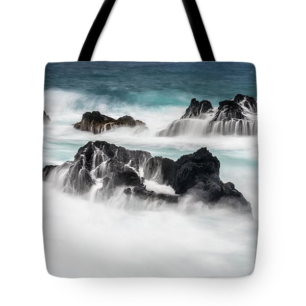 Tote Bag featuring the photograph Seduced By Waves by Jon Glaser