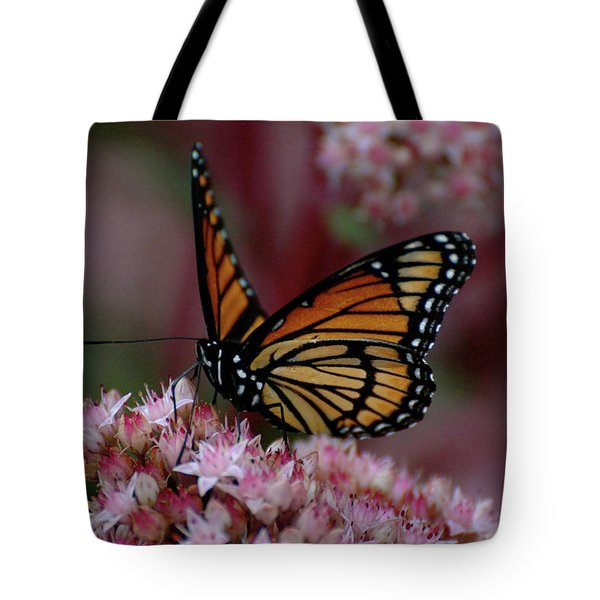 Sedum Butterfly Tote Bag