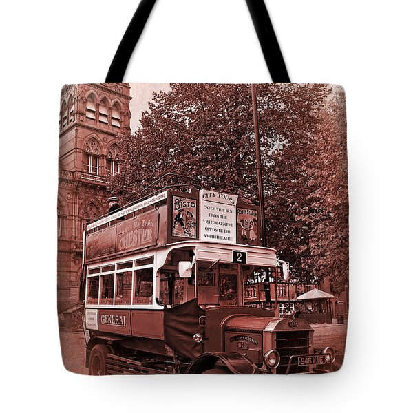 See Chester In Style Tote Bag by Meirion Matthias