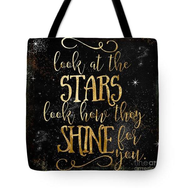 See How The Stars Shine Tote Bag