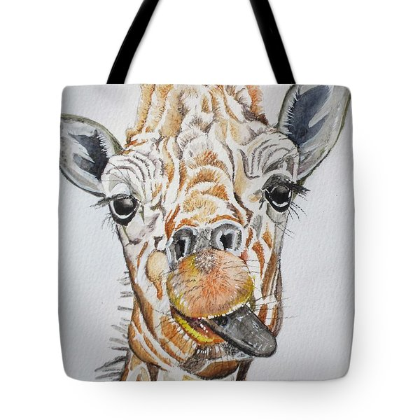 See My Tongue Tote Bag