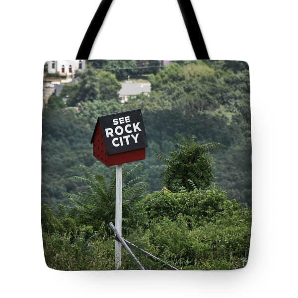 See Rock City Tote Bag