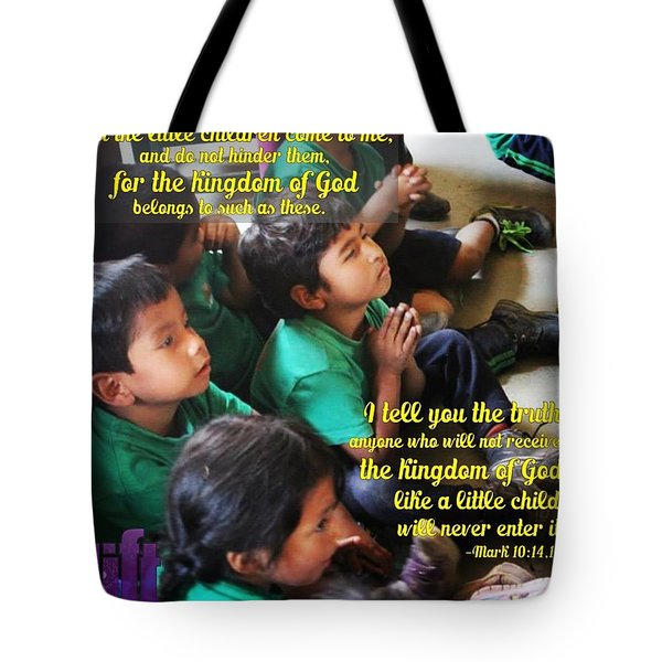 See That You Do Not Look Down On One Of Tote Bag
