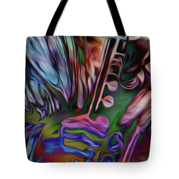 See The Music 3 Tote Bag