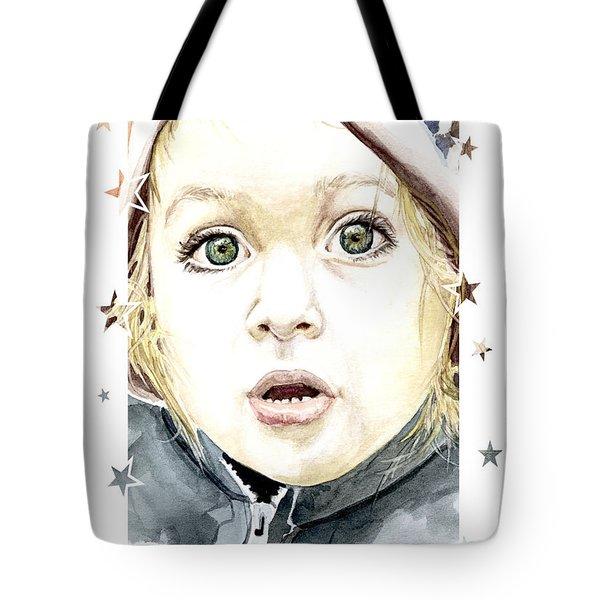 See The World Through My Eyes  Tote Bag by Alban Dizdari
