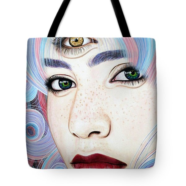 See With Your Soul Tote Bag