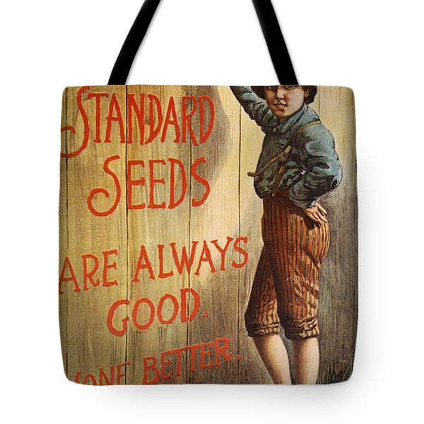 Seed Company Poster, C1890 Tote Bag by Granger