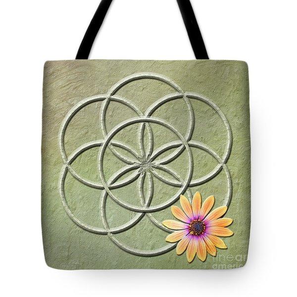 Seed Of Life Tote Bag