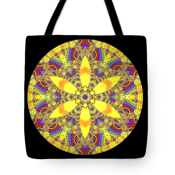 Tote Bag featuring the digital art Seed Of Life  by Robert Thalmeier