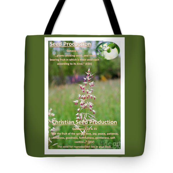 Seed Production Tote Bag