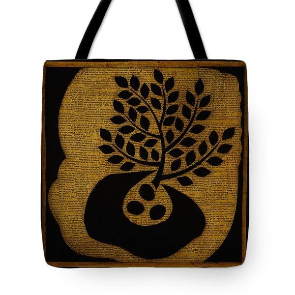 Tote Bag featuring the mixed media Seeds Of Life by Gloria Rothrock