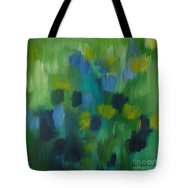 Seedtime Green Tote Bag