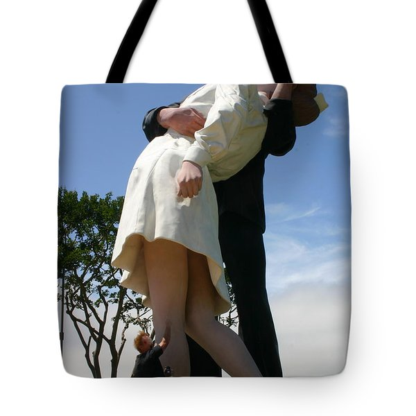 Tote Bag featuring the photograph Seeeeport Village San Diego by Marie Neder