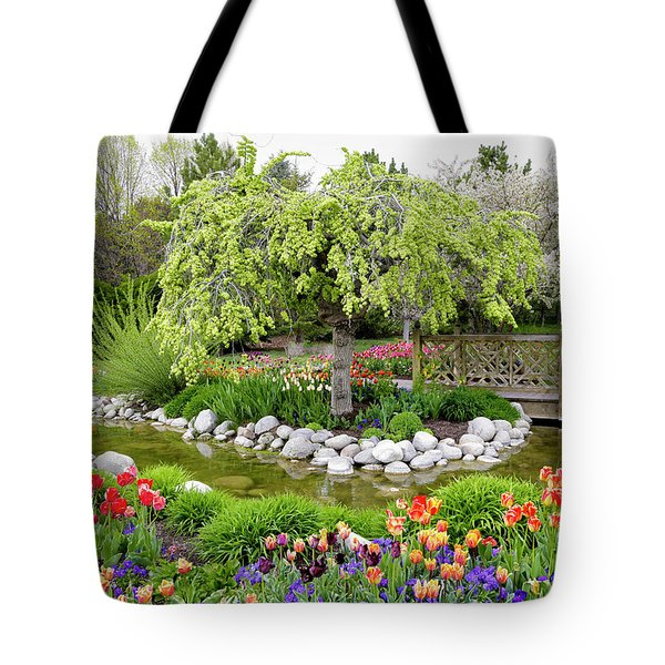 Seeing Beauty In All Things Tote Bag by James Steele