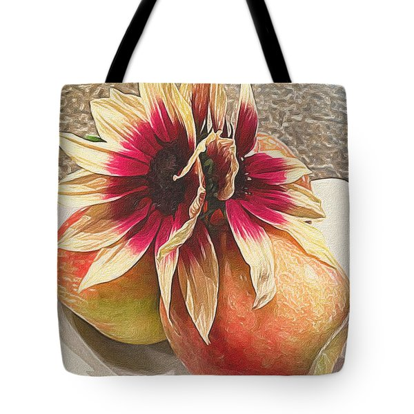 Seeing Double Tote Bag by Michele Meehl