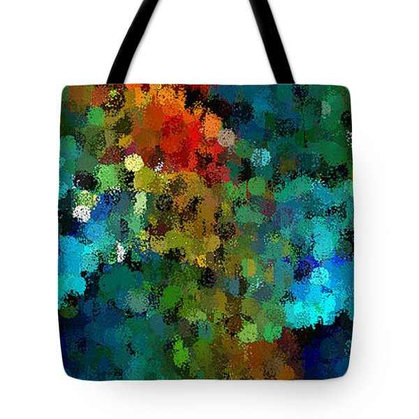 Seeing In The Rain Tote Bag